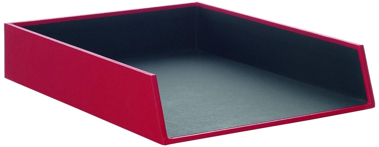 Rössler Papier 1335452170 - Vaschetta porta corrispondenza S.O.H.O. per A4, impilabile, dimensioni circa 32 x 26 x 6 cm, colore: Pietra