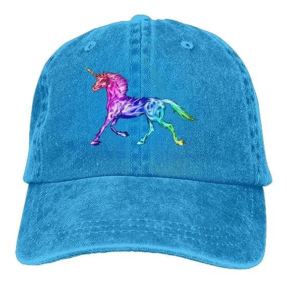 Gorras de béisbol Animales Unicornio Visera Curva Impresa Sombrero ...