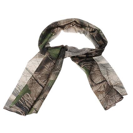 Dabixx Militaire Écharpe de Camouflage Tactique Jungle Chasse Coupe-Vent  Respirant Bandana - 4  3abe3376f4d