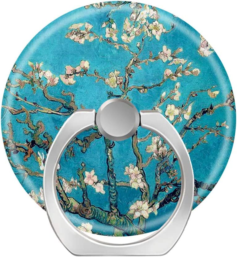 LoveStand-Cell Phone Ring Holder 360 Degree Finger Ring Stand for Smartphone Tablet and Car Mount-Blossoming Tree by Vincent Van Gogh