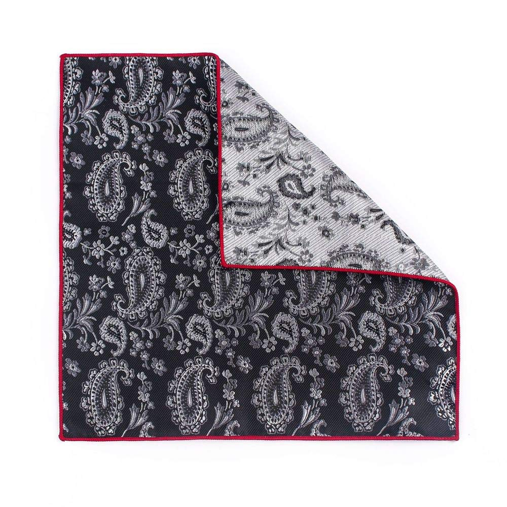 Yevison Senior Men's Polyester Pocket Square Towel Men's West Assembly Handkerchief