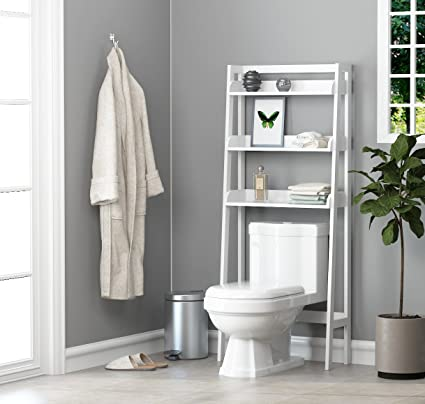 Amazon.com: UTEX 3-Shelf Bathroom Organizer over the Toilet ...