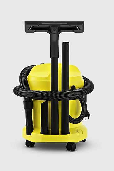 Kärcher WD2 - Aspirador seco y húmedo 1000 W, depósito plástico de ...