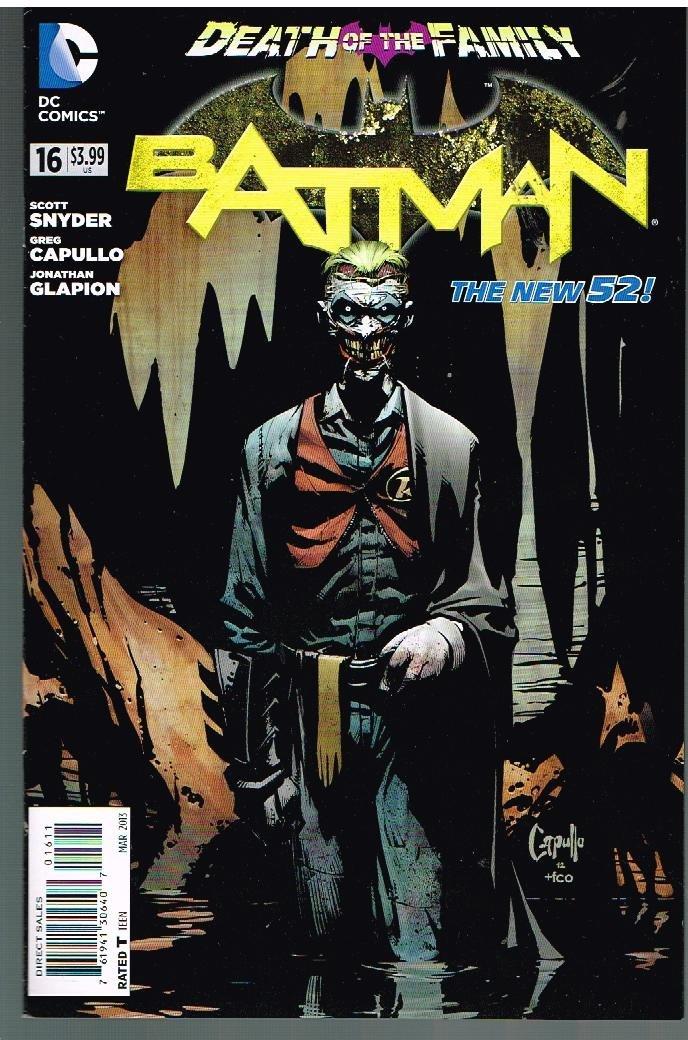 BATMAN # 16 DC Comic (Mar 2013) The New 52 Series pdf epub