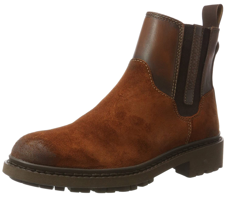 NAPAPIJRI Footwear Reese, Botas Plisadas para Mujer Marrón (Sienna Brown N41)