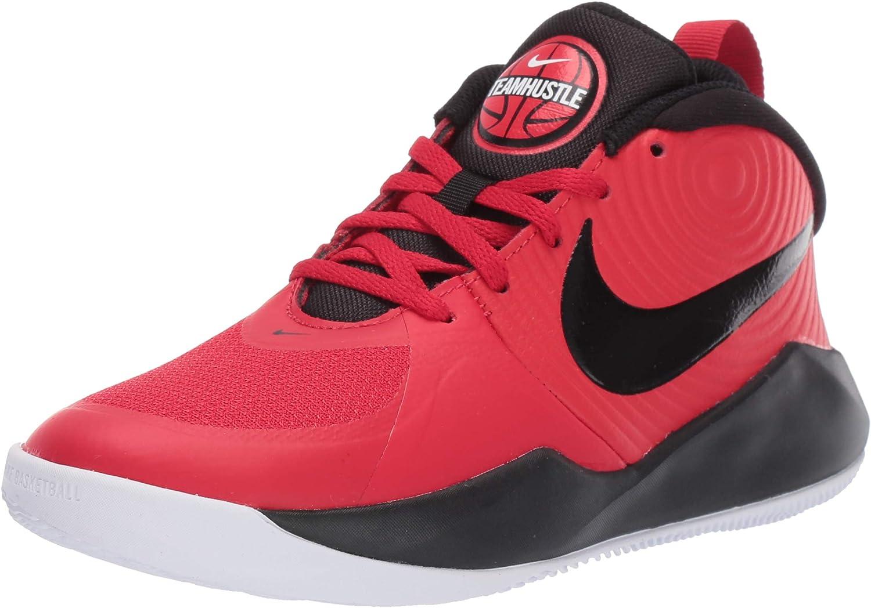 Nike Team Hustle D 9 GS Zapatos de Baloncesto Unisex Ni/ños