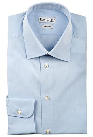 0a59a4d6a27cc4 Ernani Shirt - Poplin Light Blue Slim Fit Shirt