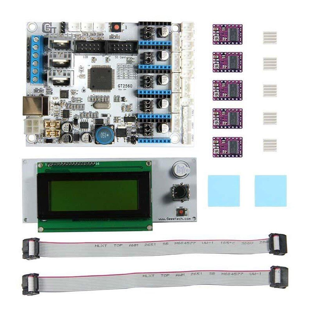 Alftek GT2560 - Placa base para impresora 3D (incluye pantalla LCD ...