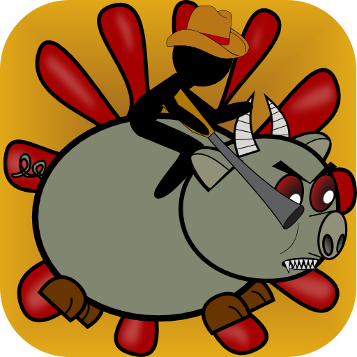 Monster Zombie Pig Rodeo