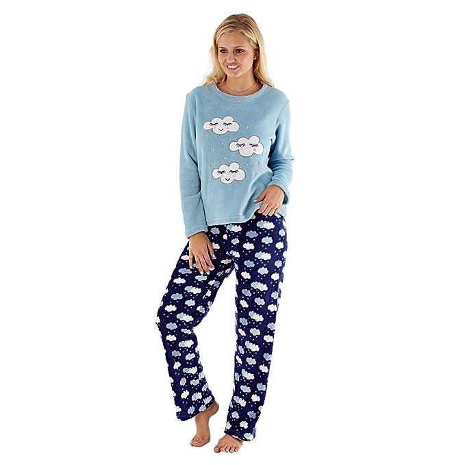 95a43d9628f12 selena secrets Ladies Girls Cloud Pajamas Set Sleepwear Loungewear ...