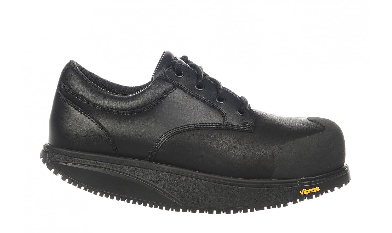 MBT Omega Work Shoe, Calzado de Protección Unisex Adulto 45 EU|Negro (Black)