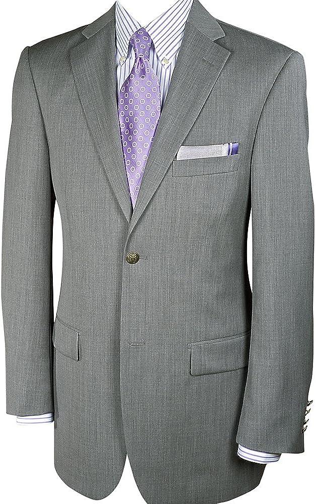 Paul Fredrick Men's Classic Fit Wool Travel Blazer