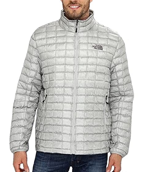 30a0c3da5f The North Face Men s ThermoBall Full Zip Insulated Jacket (Grey) (X-Large