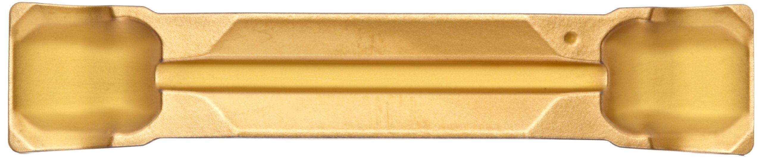 Sandvik Coromant CoroCut 2-Edge Carbide Parting Insert, GC2135 Grade, Multi-Layer Coating, CR Chipbreaker, 2 Cutting Edges, N123H2-0400-0003-CR, 0.0118'' Corner Radius, H Insert Seat Size (Pack of 10) by Sandvik Coromant (Image #3)