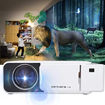 Nannday Mini proyector, Sistema de Cine en casa portátil 480P ...