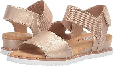 981807d332d35 Amazon.com | Skechers BOBS from Women's Desert Kiss - Timeless Summer |  Sandals