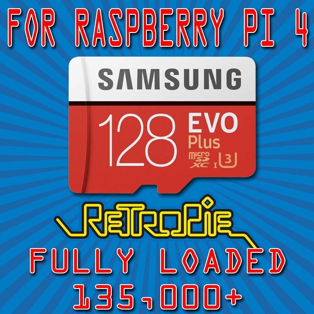 Retropie 128GB 135k Retro Classics for Raspberry Pi 4