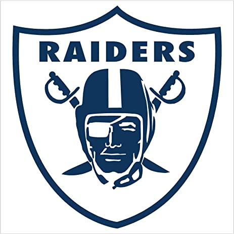 amazon com oakland raiders emblem car window decal sticker 5 5 rh amazon com Oakland Raiders Logo Oakland Raiders Screensavers