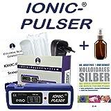 Ionic-Pulser® PRO Silber-Generator + Buch kolloidales Silber herstellen anwenden