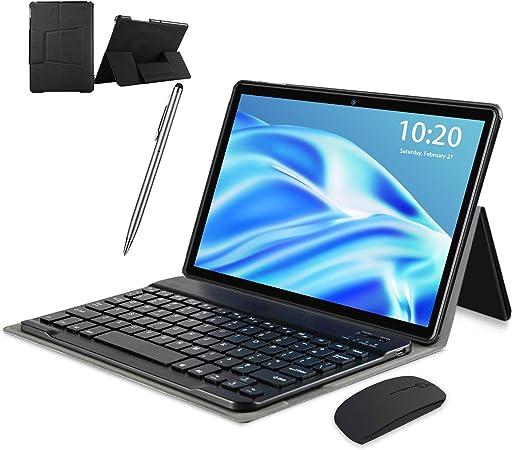 128GB Espandibili Tablet in Offerta 8000mAh Dual SIM 8MP Portatili e Tablet GPS WiFi OTG 2 in 1 4G Tablet PC Android 10 4GB RAM 64GB Tablet 10 Pollici con Wifi Offerte oro