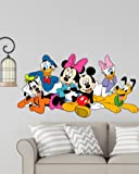 RNG Disney Cartoon Group Mickey Mouse, minnie Mouse, Donald Duck (60x31-cm, Multicolour)
