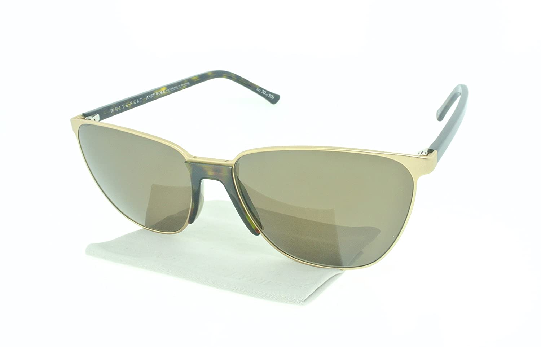 f5cb5d94465 Amazon.com  Andy Wolf Pooley Rectangular Sunglasses Composite Frames  (Beige