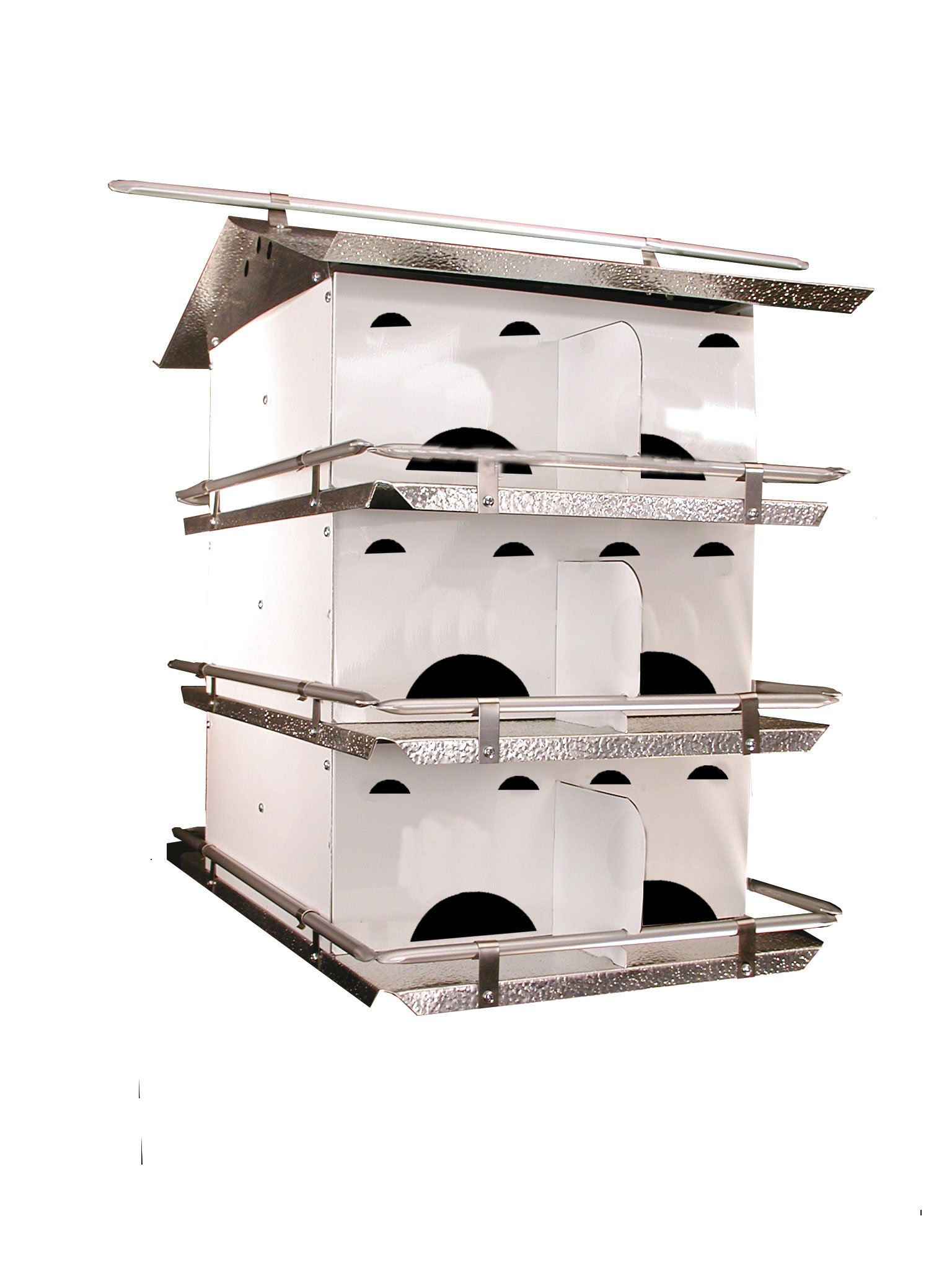 Birds Choice 3-Floor-12 Room Purple Martin House with Starling Resistent Holes by Birds Choice (Image #1)