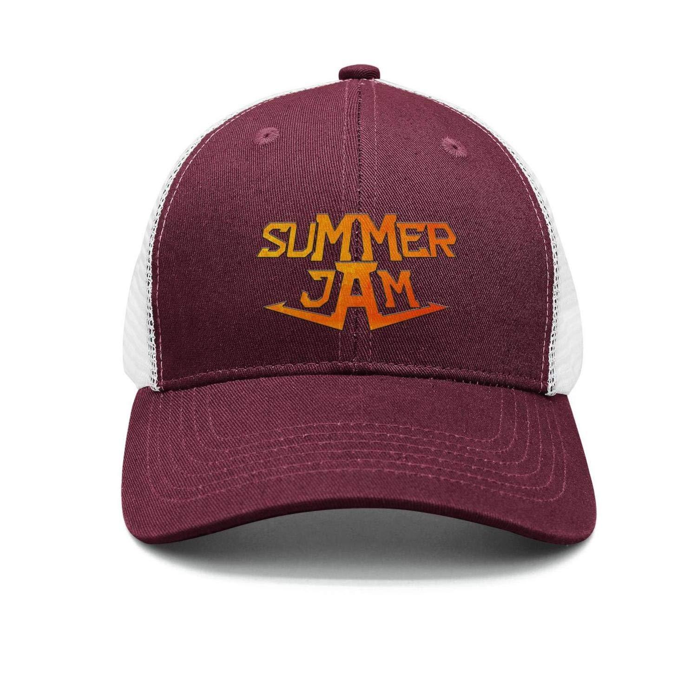 Baseball Cap Hip-hop Summer Jam Snapbacks Truker Hats Unisex Adjustable Fashion Cap