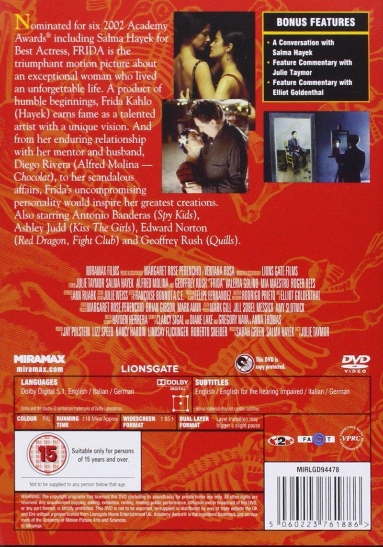 Frida [DVD]: Amazon.de: DVD & Blu-ray