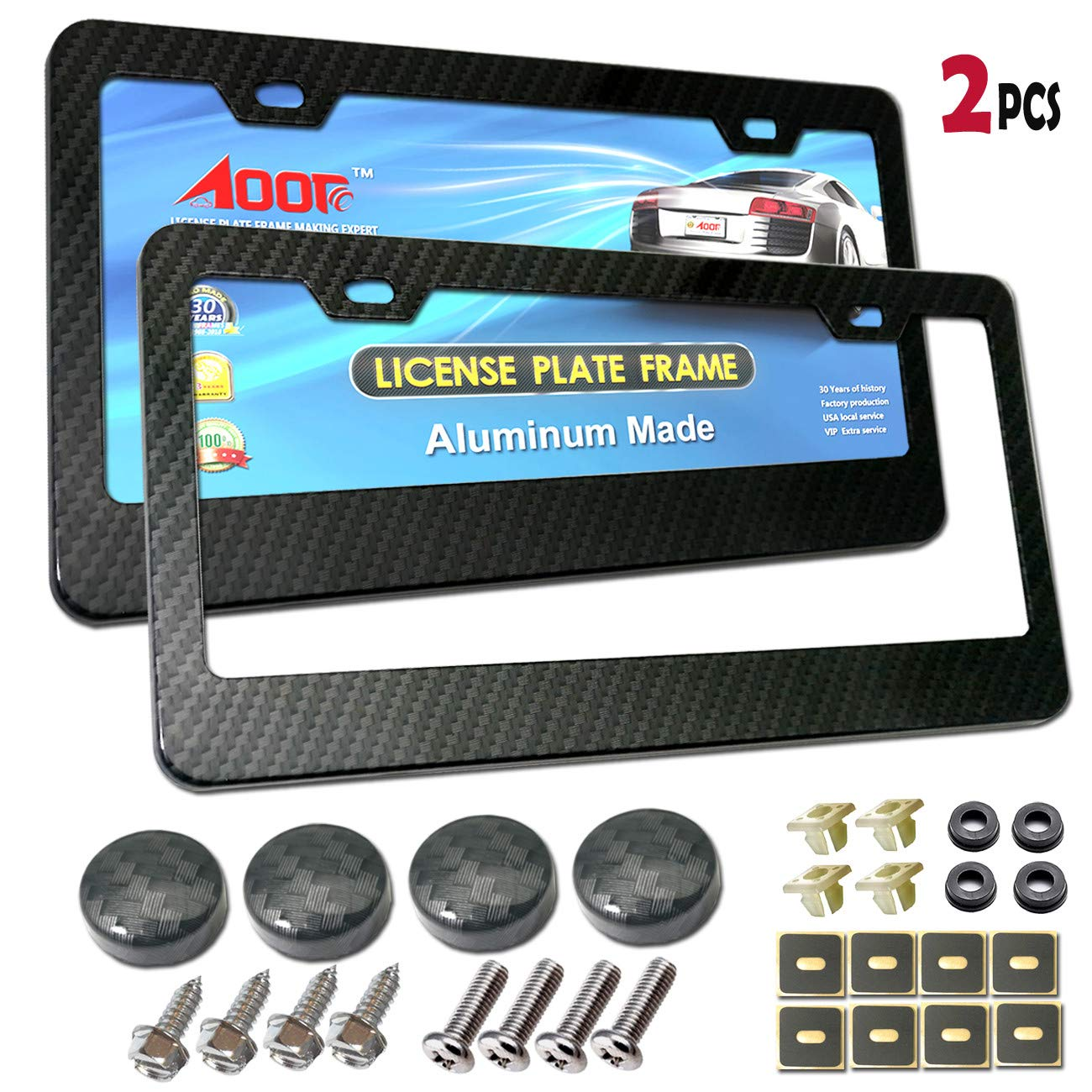 Tamper Resistant 304 Stainless Steel Plate Screws 1//4-20 x 1 Button Head Security Machine Screw and Black License Plate Screw Cover-33 Kits Anti Theft License Plate Screws