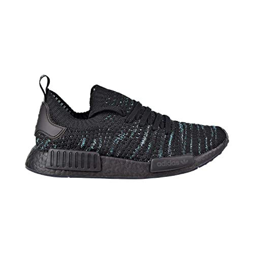 5865d418717f adidas Originals NMD R1 STLT Parley Primeknit Shoe Men s Casual 4.5 Blue  Spirit-White-Grey