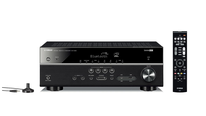 ヤマハ AVレシーバー 5.1ch Bluetooth HDR 4K映像伝送 ブラック RX-V385(B) B07C2Y5KT9