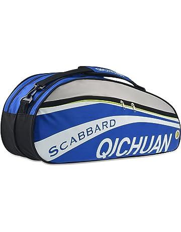 8c444e0a0407 QICHUAN Badminton Squash Tennis Racket Bag Carry Case Large