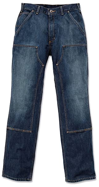 ebed76f469 Carhartt Hose Double Front Logger Jeans: Amazon.it: Amazon.it