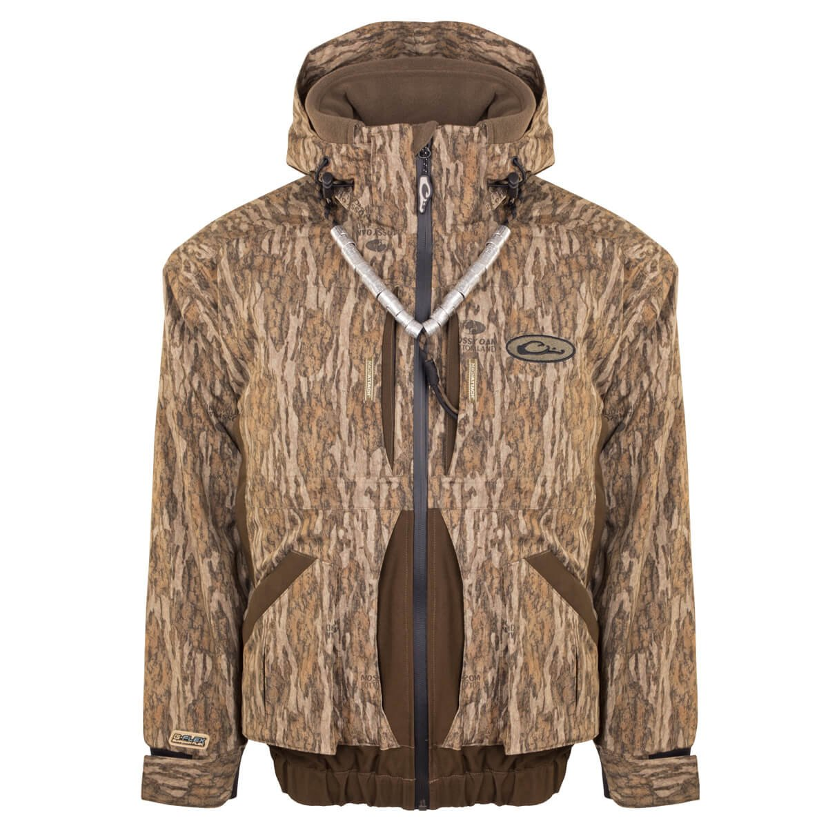Drake Guardian Flex 3 in 1 Systems Coat, Color: Mossy Oak Bottomland, Size: X-Large (DW7120-006-4) by Drake (Image #1)