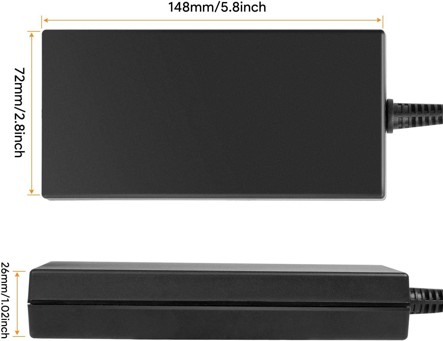 TAIFU Adaptador 120W 6,15A Cargador para Portátil Sony VAIO PCGA-AC19V7 PCGA-AC19V54 PCGA-AC19V11 Sony Bravia TV 50 55 65 LED LCD HDTV KD65XF7002 KD-55XG8596 LG 55UM7610PLB Samsung 65RU7405 Televisor: Amazon.es: Electrónica