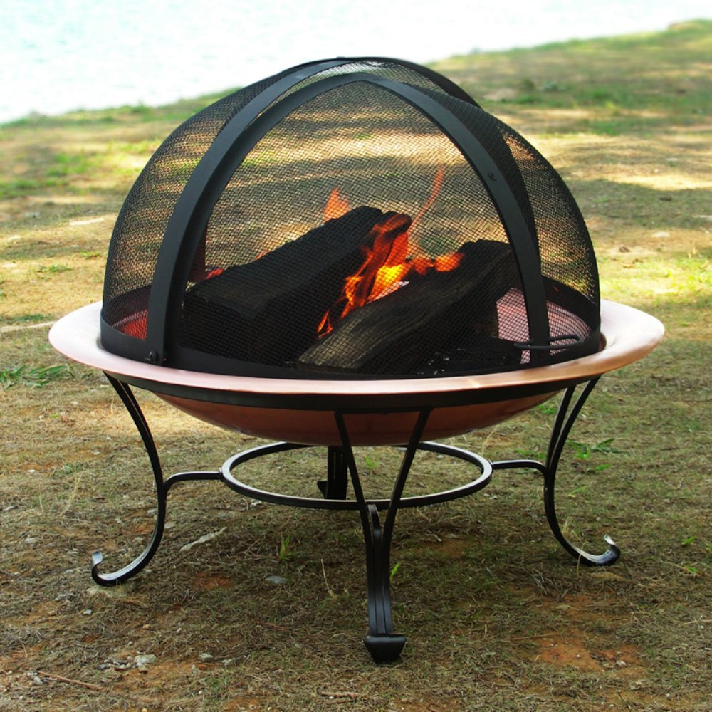 Catalina Creations Fire Pit Easy Access Spark Screen Size: 40''in by Catalina Creations (Image #4)