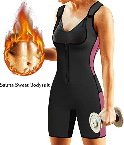 BRABIC Women's Full Body Shapewear Sport Sweat Neoprene Suit