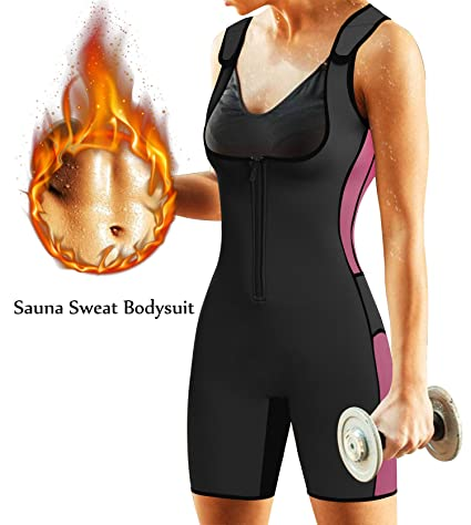 e61c3a91e0d Amazon.com   BRABIC Women s Full Body Shapewear Sport Sweat Neoprene ...