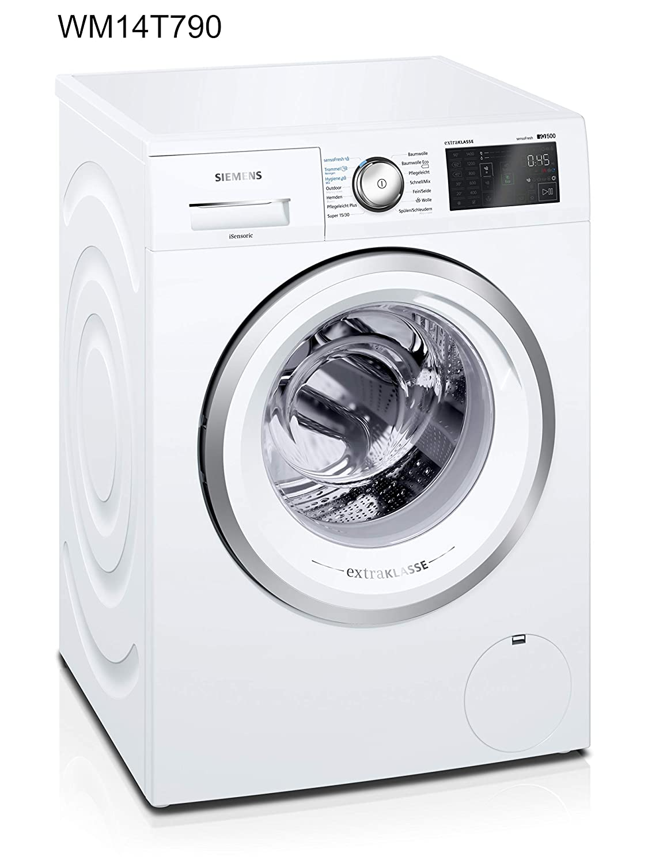 Siemens IQ500wm14t790autonome Belastung Bevor 8kg 1374tr/min A + + + Weiß Waschmaschine–Waschmaschinen (autonome, bevor Belastung, weiß, links, LED, 1,6m)