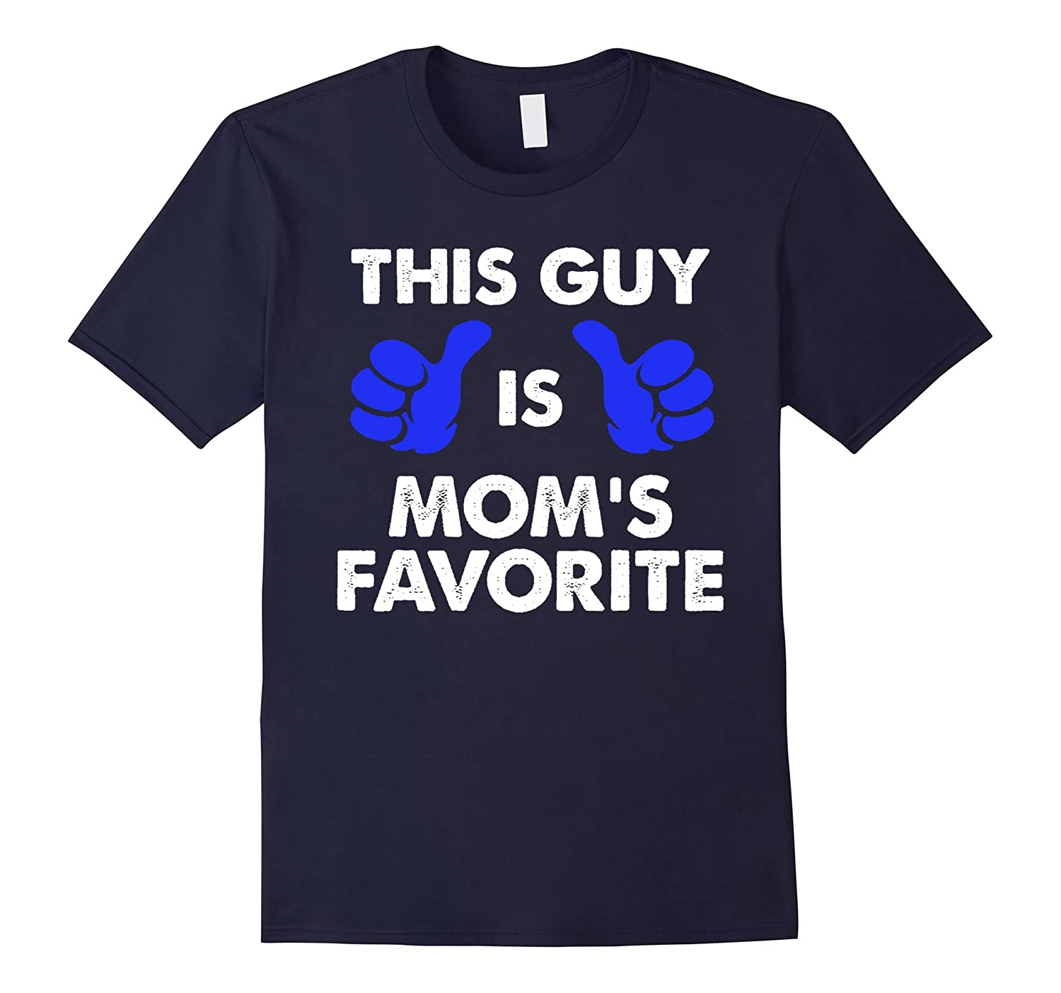 Cool THIS GUY IS MOMS FAVORITE T-shirt gift for son mom-Vaci