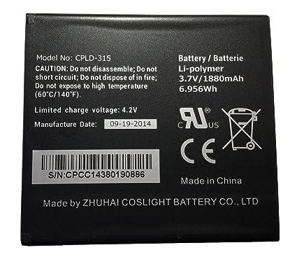 Batería Original Vodafone CPLD de 315 para 889 N, 890 N, 888 N,