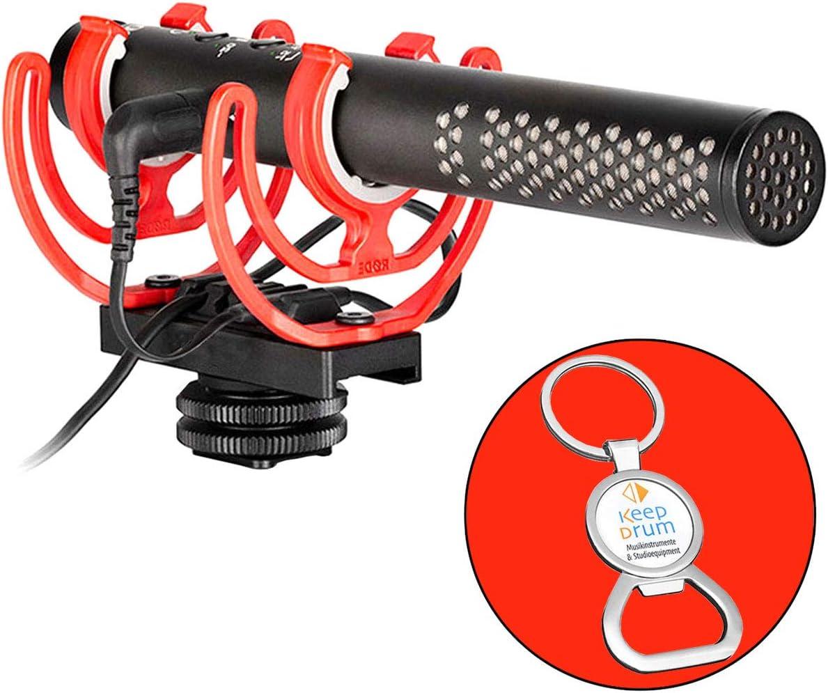 Rode Videomic NTG - Micrófono para cámara de fotos (incluye llavero con abrebotellas): Amazon.es: Instrumentos musicales