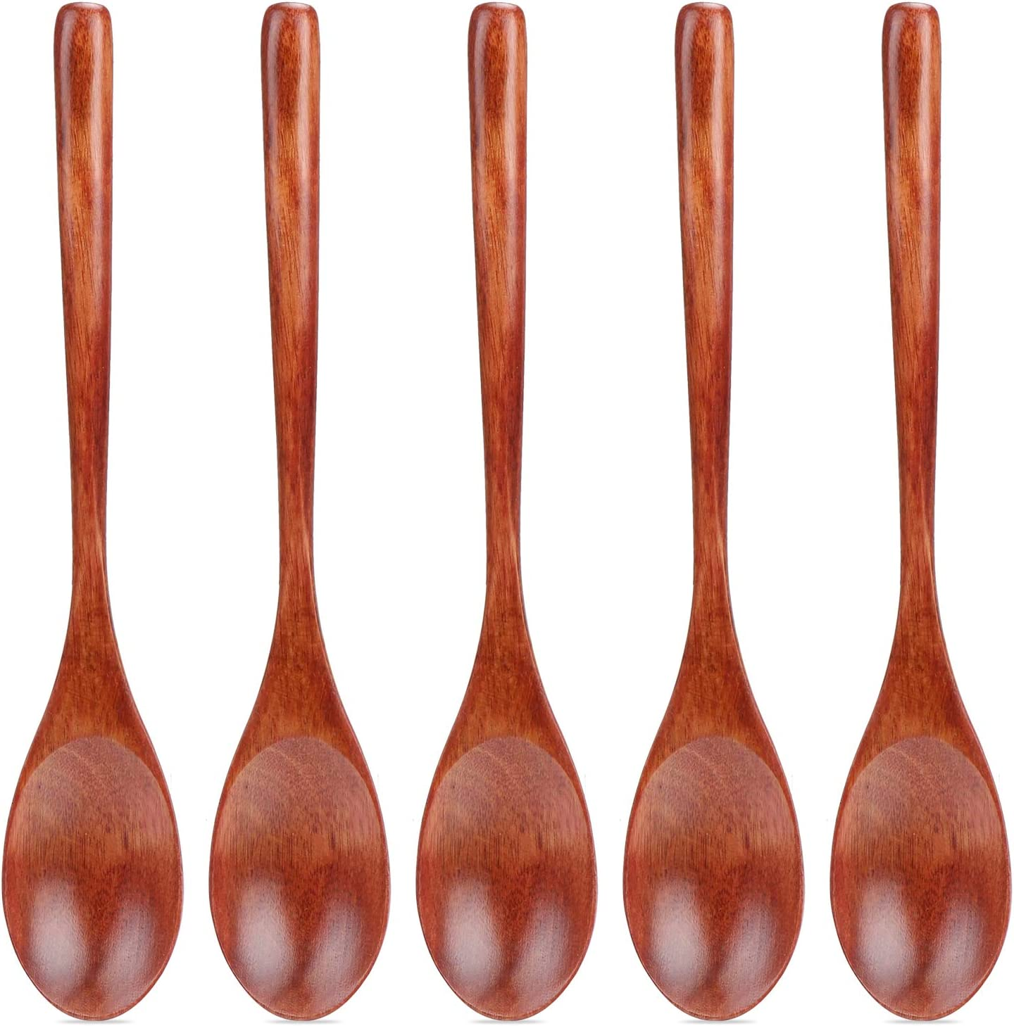 Wooden Soup Spoon Japanese Style Wood spoon Rice Spoon Cooking Utensil Tools