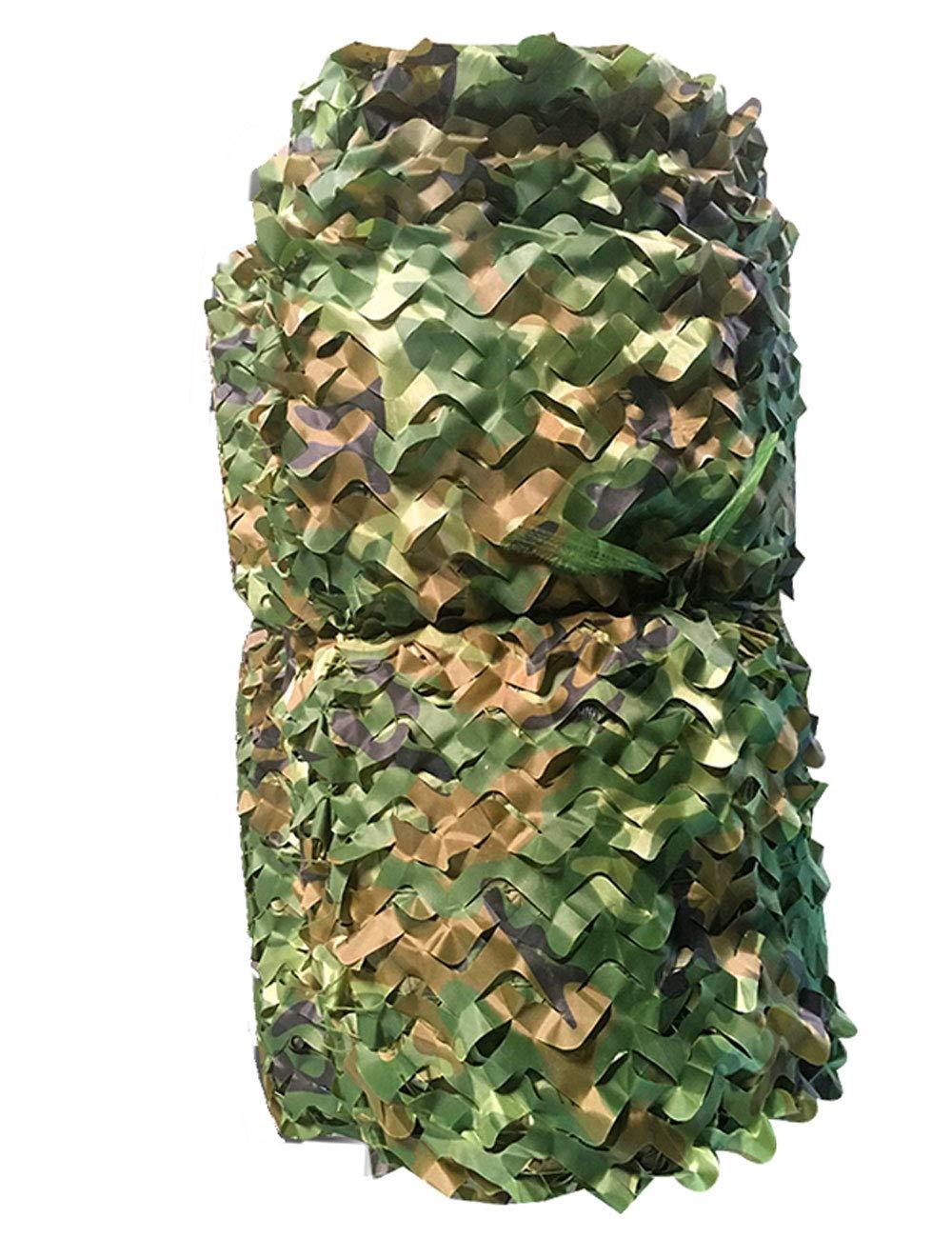 ウッドランド迷彩ネット迷彩ネットフィールド迷彩ネットキャンプ軍狩猟射撃日焼け止めネット、屋外の太陽、テーマパーティーの装飾 (サイズ さいず : 6m×8m) 6m×8m  B07ML5BP1L