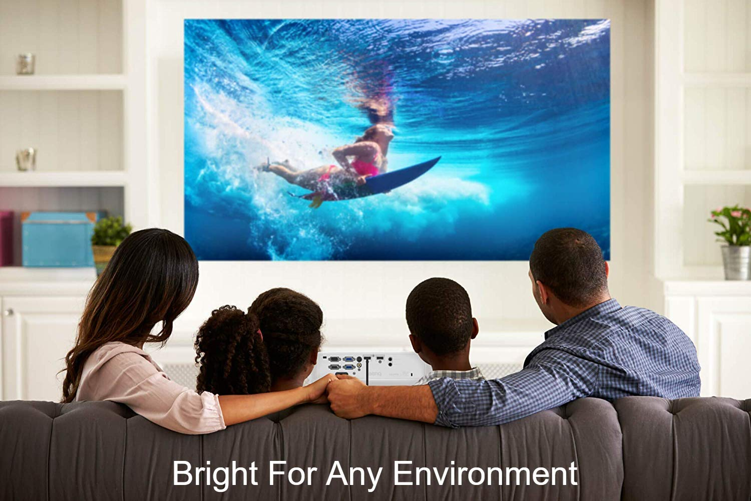 BenQ MS535A 1080p Supported SVGA 3600 Lumens HDMI Vibrant DLP Color Projector for Home and Office by BenQ (Image #3)