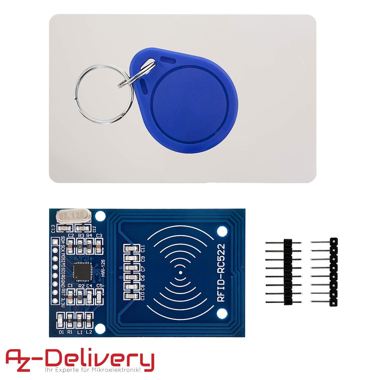 AZDelivery ⭐⭐⭐⭐⭐ 125 KHz RFID Chips e RFID carte 5x RFID Chip