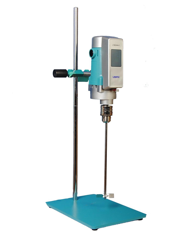 Lab Electric Mixer Agitator High Accuracy Blender LYM300W-T AC100V  AC230V Lab Mixing Machine 502000 rpm B06Y3QYHGH