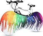 RUNACC Bike Wheel Cover, Washable Elastic Anti-dust Bike Indoor Storage Bag