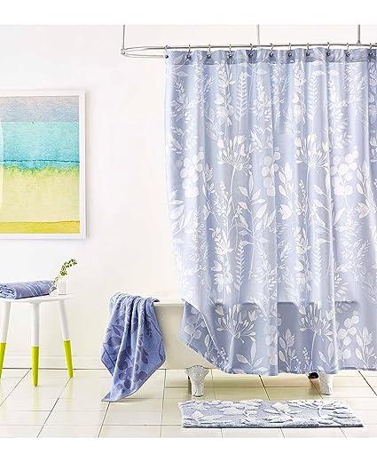 Bluebellgray Shower Curtain Fleur
